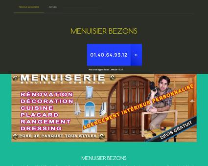 Entreprise Menuisier 95870 Bezons | Travail...