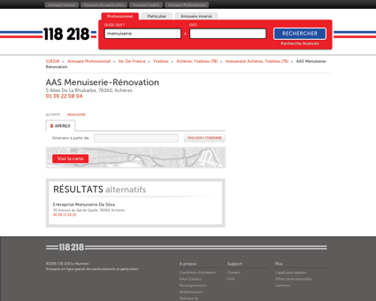 AAS Menuiserie-Rénovation - 5 Allee De La...