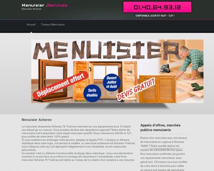 Entreprise Menuisier 78260 Acheres - Produits...