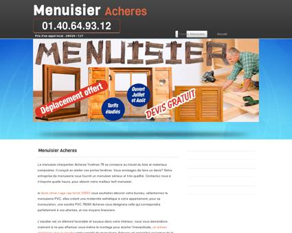 Société Menuisier 78260 Acheres - joignable...