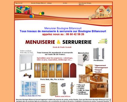 Menuisier Boulogne Billancourt au:06 60 42 58...
