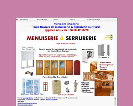 Menuisier Boulogne tel:06 60 42 58 26...