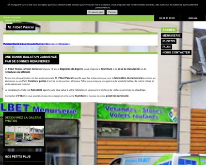 Menuiserie (entreprises) - M. Filbet Pascal à...