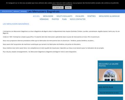 Menuiserie - Les Menuisiers Bagnérais à...