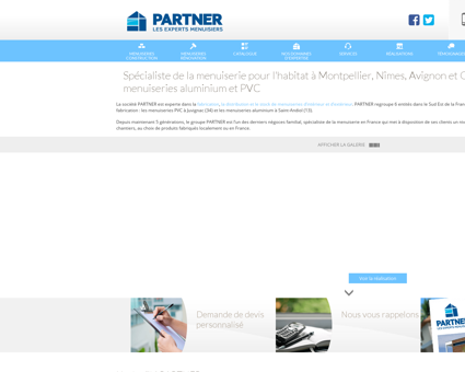 Menuiserie | partner-menuiseries.com