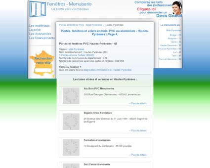 Page 4 | menuiserie, Portes et fenêtres PVC,...