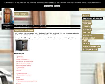 Menuiserie (entreprises) Castelnau le Lez -...