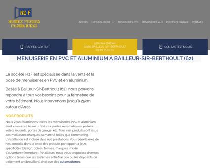 Accueil, menuiserie - Bailleul-Sir-Berthoult...