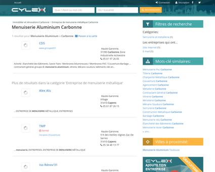Menuiserie aluminium Carbonne