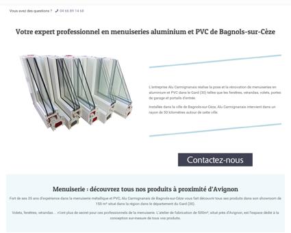 Installation menuiserie aluminium et PVC dans...
