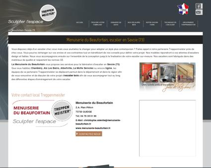 Menuiserie du Beaufortain, escalier en Savoie...