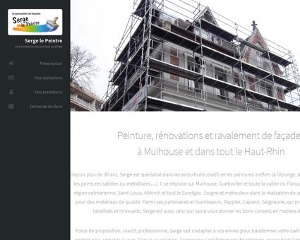 Serge Le Peintre | Peintre en bâtiment à Mulhouse