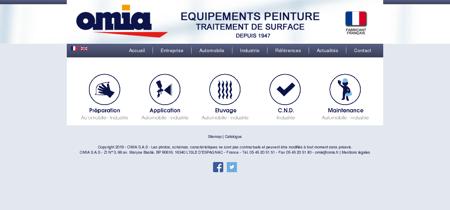OMIA - Cabine de peinture industrielle et...