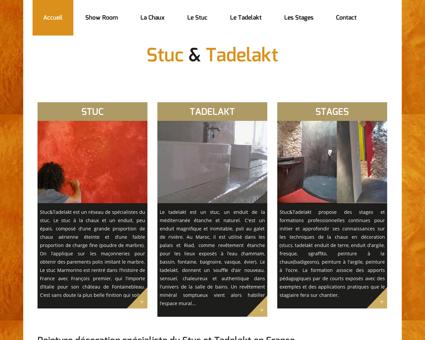 Stuc Tadelakt Stucco - peinture décoration...