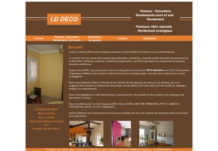 Entreprise ID DECO - Peinture, Décoration,...