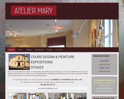 ATELIER MARY - Cours dessin peinture -...