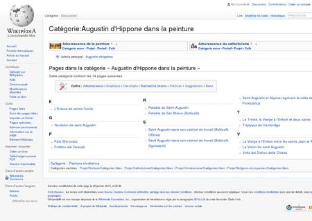 Catégorie:Augustin d'Hippone dans la...