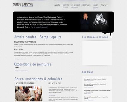 Serge Lapeyre - Artiste peintre - Atelier, cours...