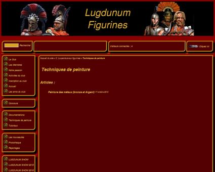 Techniques de peinture - Lugdunum Figurines