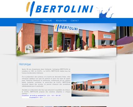 Bertolini - Peinture et décoration à Saint Paul...