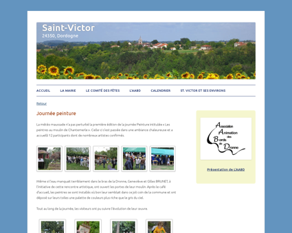 Journée peinture | Saint-Victor