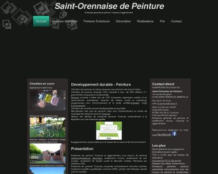 Saint-Orennaise de Peinture, peinture...