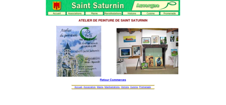 ATELIER DE PEINTURE DE SAINT SATURNIN
