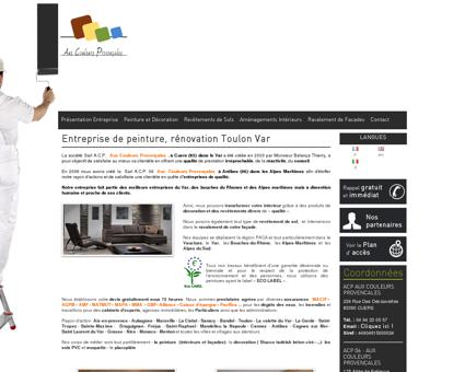 Peintre, Rénovation peinture - Toulon - Le Var...