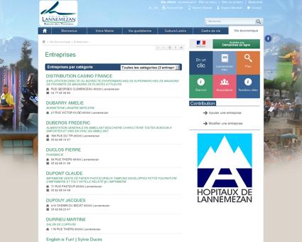 Entreprises - Lannemezan - Site officiel de la...