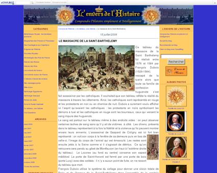 Le massacre de la Saint-Barthelemy - L'envers...