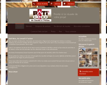 Bâtiment (entreprises) - Bati'déco à Bagnères...