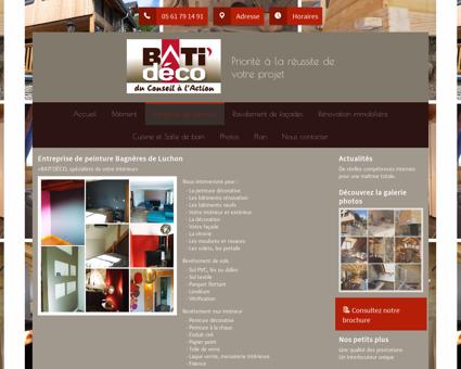 Peinture (entreprises) Bagnères de Luchon -...