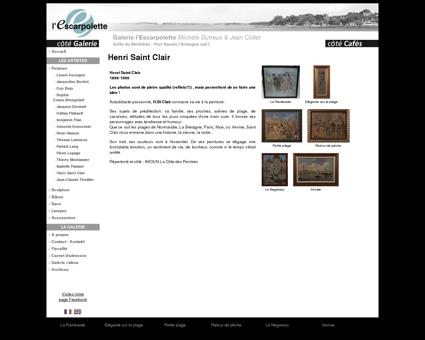 Henri Saint Clair - Peinture - Galerie DC -...