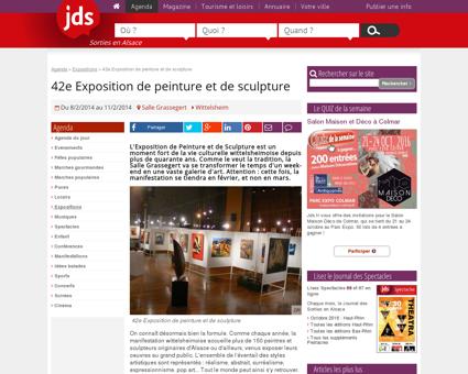 42e Exposition de peinture et de sculpture -...