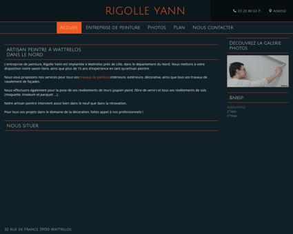 Peinture (entreprises) - Rigolle Yann à Wattrelos