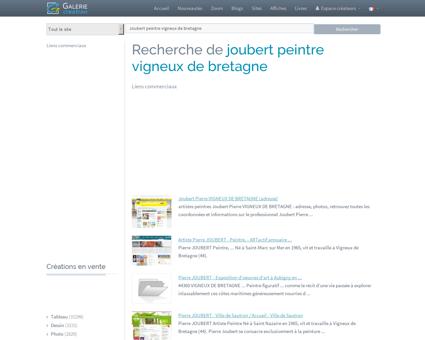 JOUBERT PEINTRE VIGNEUX DE BRETAGNE,...