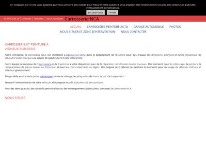 Carrosserie NCA à Vigneux-sur-Seine