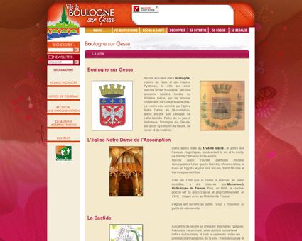 Boulogne sur Gesse, La ville - Site officiel de la...