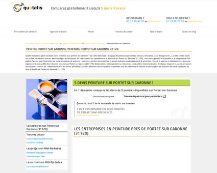 Peinture Portet sur Garonne, 5 devis Peintre...
