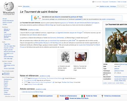 Le Tourment de saint Antoine  Wikipédia