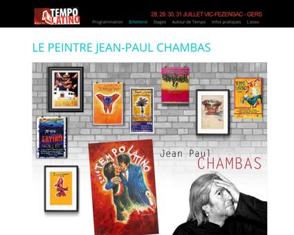 Le peintre Jean-Paul Chambas | Festival Tempo...