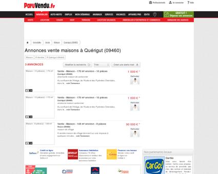 Vente maison à Quérigut (09460) : annonces...
