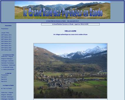 le Grand Raid Des Pyrénées en Rando