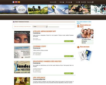 Liste des commerces et services | Office de...