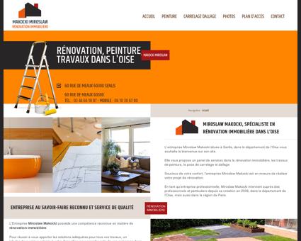 Rénovation immobilière - Senlis Peintre,...