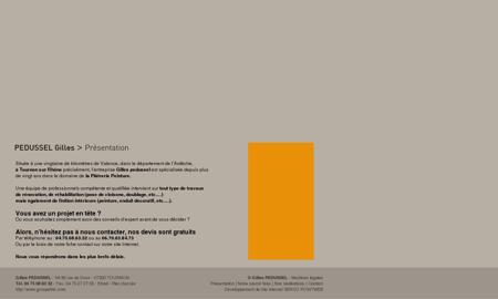 Gilles Pedussel :: Platrerie peinture Tournon -...