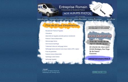 Entreprise Romain - Devis Gratuit Ravalement...