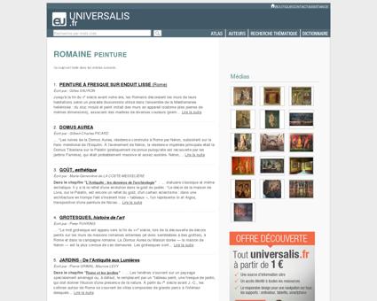 PEINTURE ROMAINE - Encyclopædia Universalis