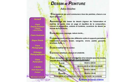 Cours Dessin Peinture Adultes Rueil - Atelier...