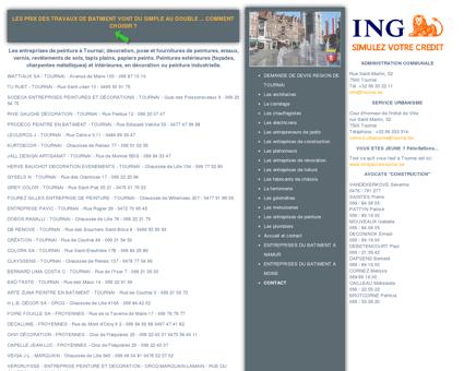 Les entreprises de peinture à Tournai